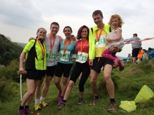 A successful day out for CRC at the Cheddar Gorge 10K