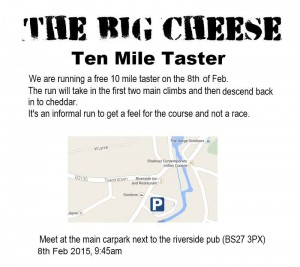 The little cheese, free 10 mile run